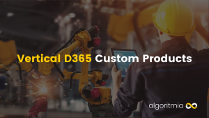 Vertical D365 Custom Products