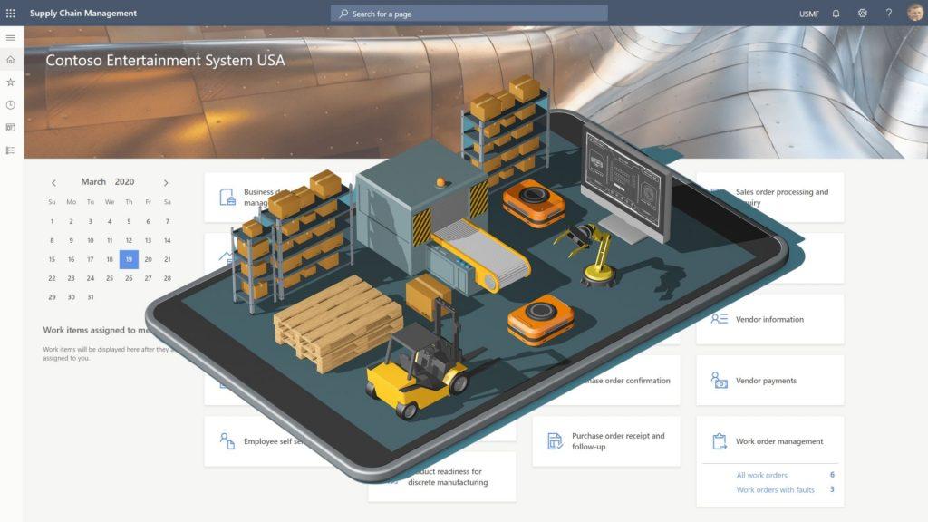 Dynamics 365 Supply Chain Management